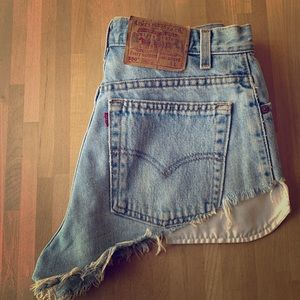 Vintage Levi Denim Cutoffs